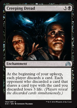 Creeping Dread - Foil