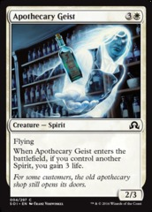 Apothecary Geist - Foil on Channel Fireball
