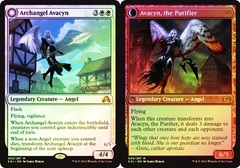 Archangel Avacyn // Avacyn, the Purifier - Prerelease Promo