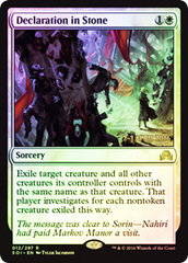 Declaration in Stone - Prerelease Promo