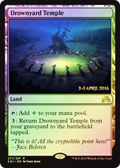 Drownyard Temple - Foil - Prerelease Promo