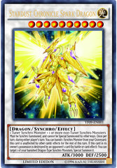 Stardust Chronicle Spark Dragon - YF09-EN001 - Ultra Rare - Limited Edition