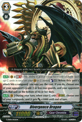Divergence Dragon - G-SD01/002 - Foil