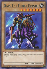 Gaia The Fierce Knight - MIL1-EN025 - Rare - 1st Edition