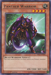 Panther Warrior - MIL1-EN036 - Rare - 1st Edition