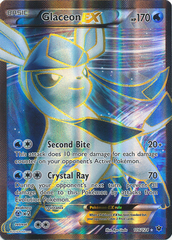 Glaceon-EX - 116/124 - Full Art Ultra Rare