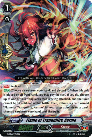Flame of Tranquility, Aermo - G-LD02/011EN - RRR
