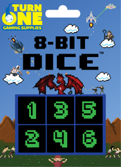 8-Bit Dice - Monochrome