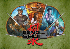 A Fistful of Fight Scenes: Feng Shui 2 GM Screen