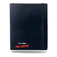 Ultra Pro 4-Pocket Pro-Binder - Black