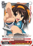 SY/WE09-E16 C Girl Who Will Change the World, Haruhi