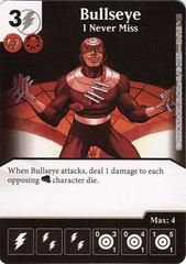 Bullseye - I Never Miss (Card Only)