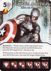 Captain America - Man on the Run (Die & Card Combo)