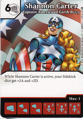 Shannon Carter - Captain America of Earth 81223 (Die & Card Combo)