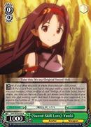 SAO/SE26-E08 R Sword Skill Lore Yuuki