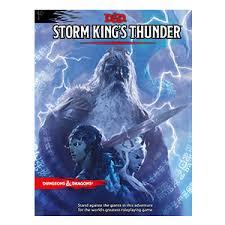 Dungeons and Dragons RPG 5th Edition: Storm King's Thunder