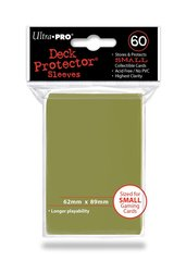 Ultra Pro - Small Deck Protectors - Metallic Gold - 60ct