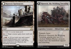 Hanweir Battlements // Hanweir, the Writhing Township - Foil