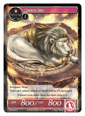 Napping Lion - BFA-025 - U - Foil
