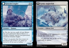 Grizzled Angler // Grisly Anglerfish