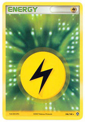 Lightning Energy - 106/108 - Rare Holo