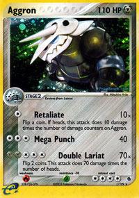 Aggron - 1 - Holo Rare
