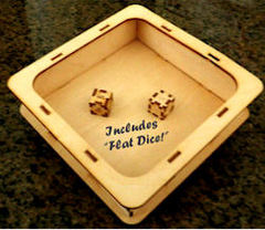 Knockdown Birch Dice Tray