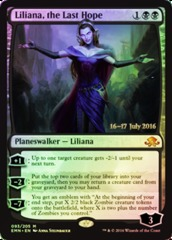 Liliana, the Last Hope - Foil - Prerelease Promo