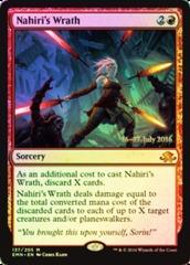 Nahiri's Wrath - Foil - Prerelease Promo