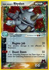 Team Magma's Rhydon - 11/95 - Holo Rare