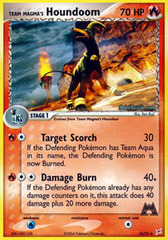 Team Magma's Houndoom - 34/95 - Uncommon