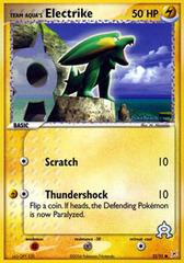 Team Aqua's Electrike - 52/95 - Common