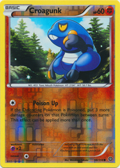 Croagunk - 58/114 - Common - Reverse Holo