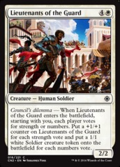 Lieutenants of the Guard - Foil