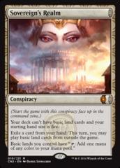 Sovereign's Realm - Foil