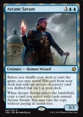 Arcane Savant - Foil on Channel Fireball