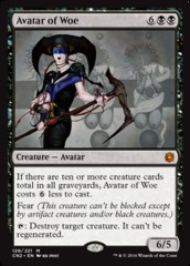 Avatar of Woe - Foil on Channel Fireball