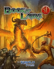 Dungeons & Dragons 5E - Book of Lairs
