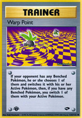 Warp Point - 126/132 - Common - 1st Edition