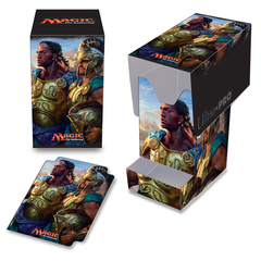 Ultra Pro - Commander 2016 PRO - 100+ Deck Box with Tray, Kynaios and Tiro of Meletis, for Magic