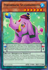 Performapal Splashmammoth - MP16-EN106 - Rare - 1st Edition