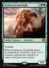 Verdurous Gearhulk on Channel Fireball