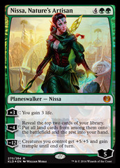Nissa, Nature's Artisan - Planeswalker Deck Exclusive