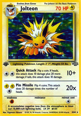 Jolteon - 4/64 - Holo Rare - 1st Edition