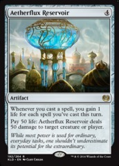 Aetherflux Reservoir - Foil on Channel Fireball
