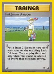 Pokemon Breeder - 102/110 - Rare