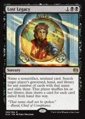 Lost Legacy - Foil