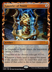 Gauntlet of Power - Foil