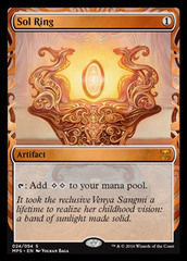 Sol Ring (Masterpiece Foil) on Channel Fireball