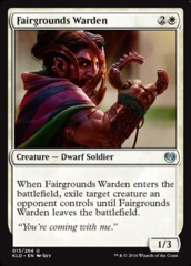 Fairgrounds Warden - Foil
